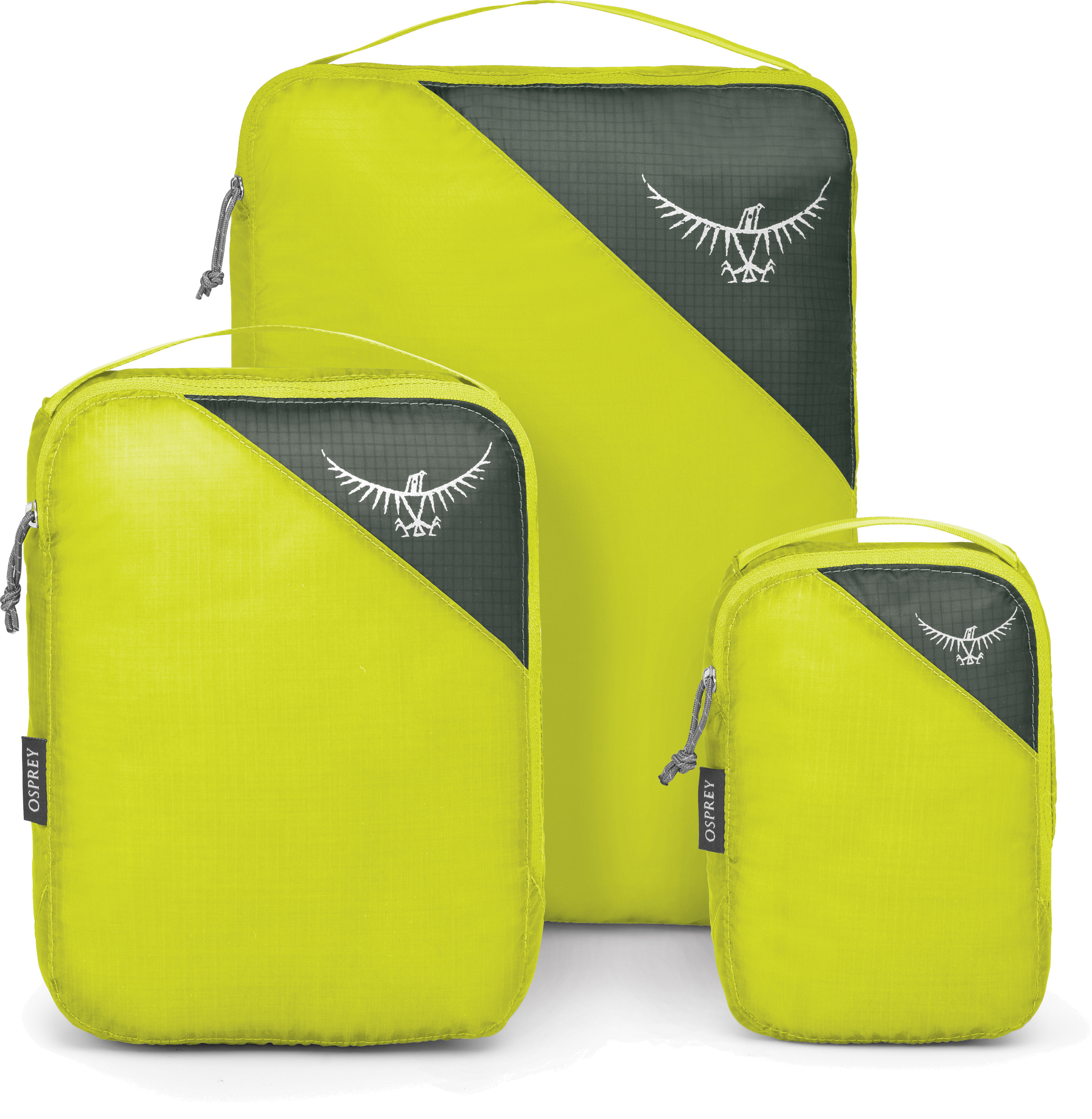 Osprey Ultralight Packing Cube Set Electric Lime S//M//L